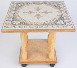 журнальный стол из керамогранита- необычный и красивый подарок