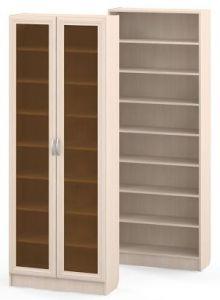 Вместительный книжный шкаф шириной 80 см. - купить за 7700 р.
