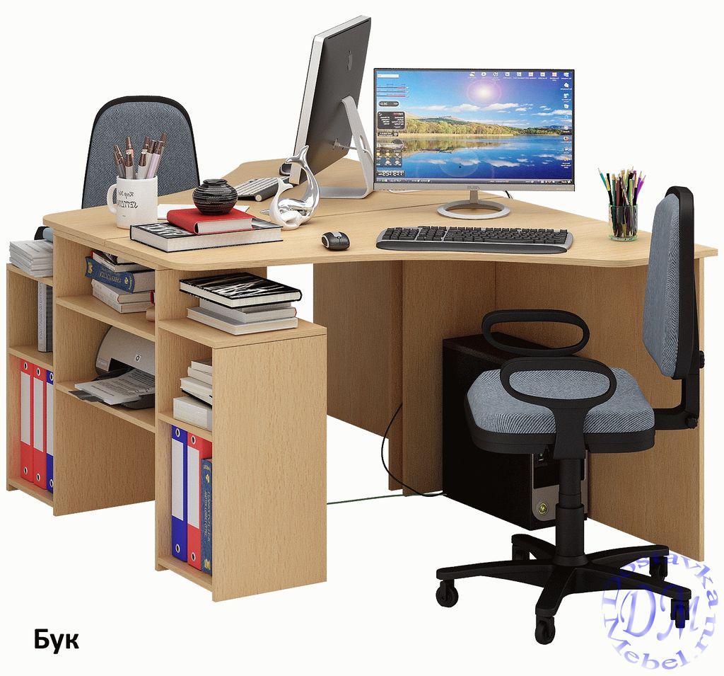 стол компьютерный угловой корнет 3 купить по цене 7760 руб