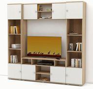 модульная мебель Тунис (Тумба ТВ, Шкафы 2 шт., Полка)