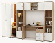 модульная мебель Тунис (Стол, Шкафы 4 шт., Полка)